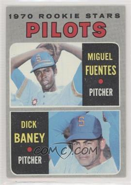 1970 Topps - [Base] #88 - 1970 Rookie Stars - Miguel Fuentes, Dick Baney