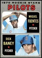 1970 Rookie Stars - Miguel Fuentes, Dick Baney [NMMT]
