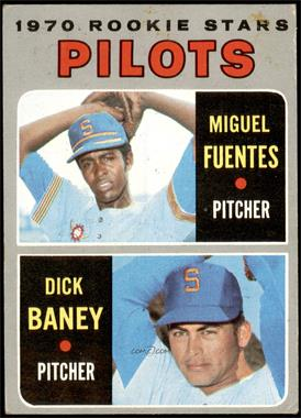 1970 Topps - [Base] #88 - Miguel Fuentes, Dick Baney [FAIR]