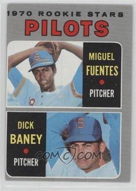1970 Topps - [Base] #88 - Miguel Fuentes, Dick Baney
