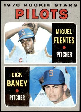 1970 Topps - [Base] #88 - Miguel Fuentes, Dick Baney [NM+]