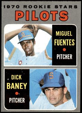1970 Topps - [Base] #88 - Miguel Fuentes, Dick Baney [NM]