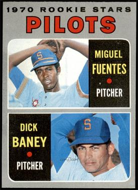 1970 Topps - [Base] #88 - Miguel Fuentes, Dick Baney [NMMT]