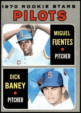1970 Topps - [Base] #88 - Miguel Fuentes, Dick Baney [EX]