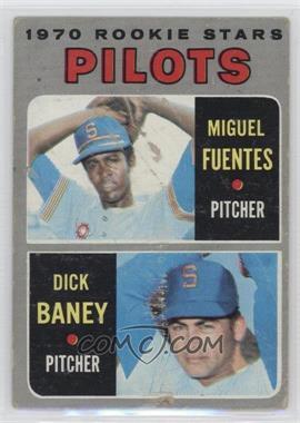 1970 Topps - [Base] #88 - Miguel Fuentes, Dick Baney [PoortoFair]