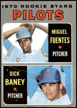 1970 Topps - [Base] #88 - Miguel Fuentes, Dick Baney [VG]
