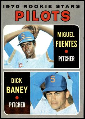 1970 Topps - [Base] #88 - Miguel Fuentes, Dick Baney [EX MT]