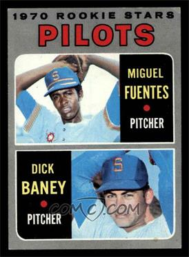 1970 Topps - [Base] #88 - Miguel Fuentes, Dick Baney [VG EX]