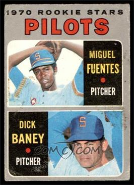 1970 Topps - [Base] #88 - Miguel Fuentes, Dick Baney [GOOD]