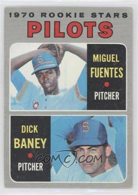 1970 Topps - [Base] #88 - Miguel Fuentes, Dick Baney [Good to VG‑EX]