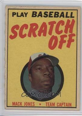 1970 Topps - Scratch Off - Unscratched #HAAA - Hank Aaron