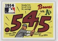 1914 - Boston Braves - Philadelphia Athletics