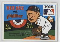 1915 - Boston Red Sox vs. Philadelphia Phillies [Good to VG‑EX]