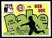 1918 - Chicago Cubs vs. Boston Red Sox [EX]