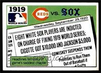 1919 - Cincinnati Reds vs Chicago White Sox [VG]