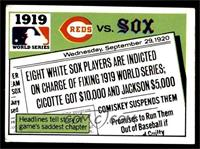 1919 - Cincinnati Reds vs Chicago White Sox [VG EX]