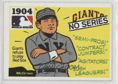 1971 Fleer Laughlin World Series - [Base] #2 - 1904 - No Series (Giants vs. Red Sox)