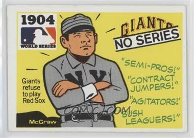 1971 Fleer Laughlin World Series - [Base] #2 - 1904 - No Series (Giants vs. Red Sox)