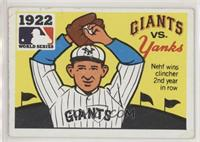 1922 - New York Giants vs. New York Yankees [Good to VG‑EX]