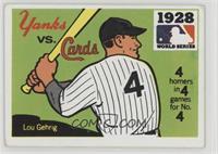 1928 - New York Yankees vs. St. Louis Cardinals [GoodtoVG‑EX]