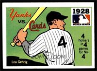 1928 - New York Yankees vs. St. Louis Cardinals [EX MT]