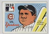 1932 - Chicago Cubs vs. New York Yankees [Good to VG‑EX]