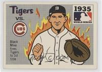 1935 - Detroit Tigers vs. Chicago Cubs [Poor to Fair]