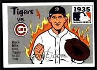 1935 - Detroit Tigers vs. Chicago Cubs [EX]