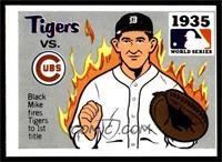 1935 - Detroit Tigers vs. Chicago Cubs [VGEX]