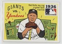 1936 - New York Giants vs. New Yankees [GoodtoVG‑EX]