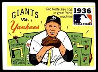 1936 - New York Giants vs. New Yankees [VG EX]