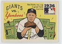 1936 - New York Giants vs. New Yankees [Good to VG‑EX]
