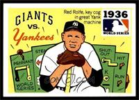 1936 - New York Giants vs. New Yankees [EX MT]