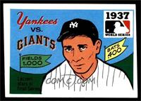 1937 - New York Yankees vs. New York Giants [VG]