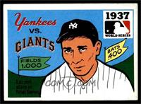 1937 - New York Yankees vs. New York Giants [VG EX]