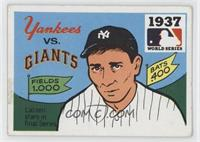 1937 - New York Yankees vs. New York Giants [Good to VG‑EX]
