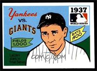 1937 - New York Yankees vs. New York Giants [EX]