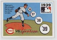 1939 - Cincinnati Reds vs. New York Yankees [GoodtoVG‑EX]