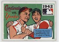 1942 - St. Louis Cardinals vs. New York Yankees [Poor to Fair]