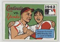 1942 - St. Louis Cardinals vs. New York Yankees [Good to VG‑EX]