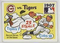 1907 - Chicago Cubs vs, Detroit Tigers Team [GoodtoVG‑EX]