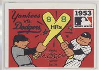 1953 - New York Yankees vs. Brooklyn Dodgers [GoodtoVG‑EX]