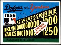 1956 - Brooklyn Dodgers vs. New York Yankees [NM]