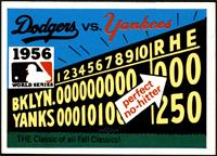 1956 - Brooklyn Dodgers vs. New York Yankees [NMMT]