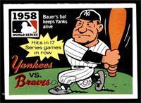 1958 - New York Yankees vs. Milwaukee Braves [EX]