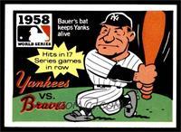 1958 - New York Yankees vs. Milwaukee Braves [EXMT]