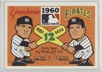 1960 - New York Yankees vs. Pittsburgh Pirates [GoodtoVG‑EX]