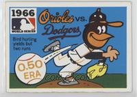 1966 - Baltimore Orioles vs. Los Angeles Dodgers [GoodtoVG‑EX]