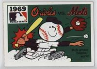 1969 - New York Mets vs. Baltimore Orioles [Good to VG‑EX]