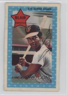 1971 Kellogg's 3-D Super Stars - [Base] #35 - Paul Blair